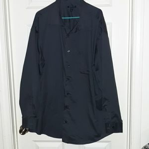 Van Heusen dark grey size 3xl button dress shirt